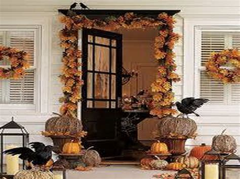 decoration front door home fall decorating ideas home