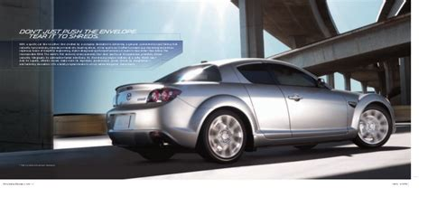 rx8 dealership 2011 mazda rx8 coupe brochure provided by naples fort