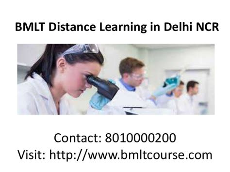 Distance Mba Programs In Delhi by Bmlt Distance Learning In Delhi Ncr
