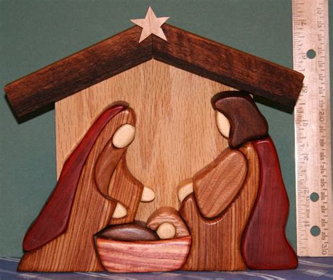 wood nativity pattern free the 34 best images about intarsia on pinterest nativity