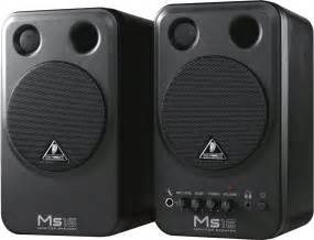 Jual Speaker Aktif Terbaik Untuk Karaoke by Behringer Ms16 Computer Speakers Monitors Soundreview