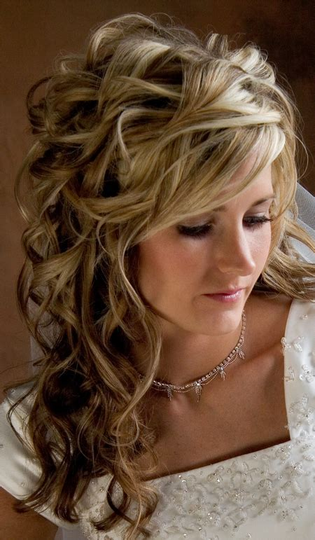 Wedding Hairstyles Curls by Curly Wedding Hairstyles Hairstyles And Fashion