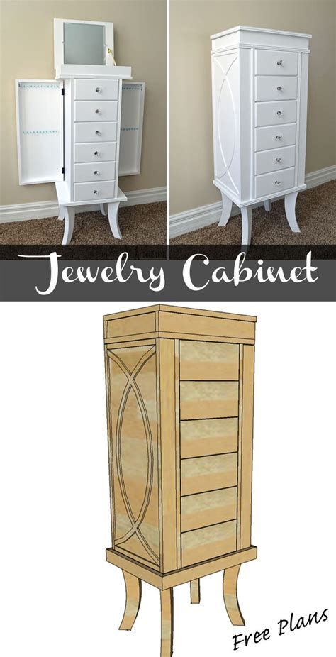 woodworking plans jewelry armoire best 25 jewelry cabinet ideas on pinterest mirror