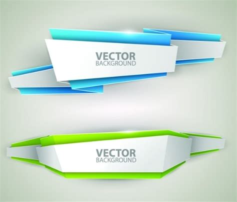design banner vector free creative stylish ribbon banner design vector 04 titanui