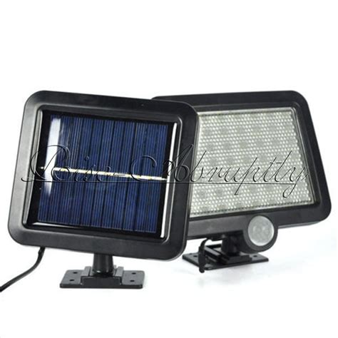 Solar Powered Flood Light 56 Led Motion Sensor Solar Powered Outdoor Garden Security