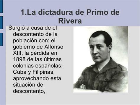 la dictadura de gnero 8415338813 de primo de rivera a franco