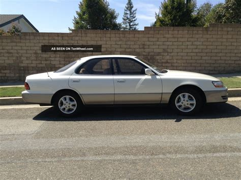 repair anti lock braking 1992 lexus es user handbook 1992 lexus es300 base sedan 4 door 3 0l