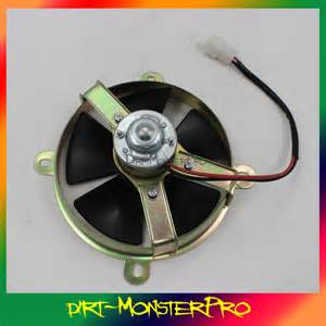 dirt bike radiator fan kit 12v 6 inch thermo radiator fan fan pit trial dirt