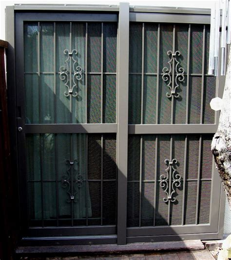 patio security doors barn and patio doors