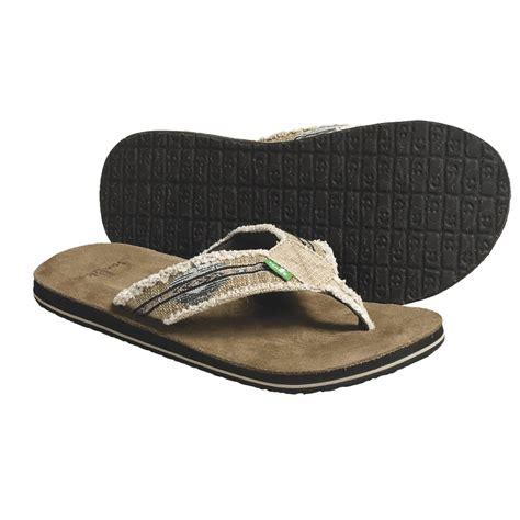 sanuk mens slippers sanuk fraid so sandals for 4329y save 26
