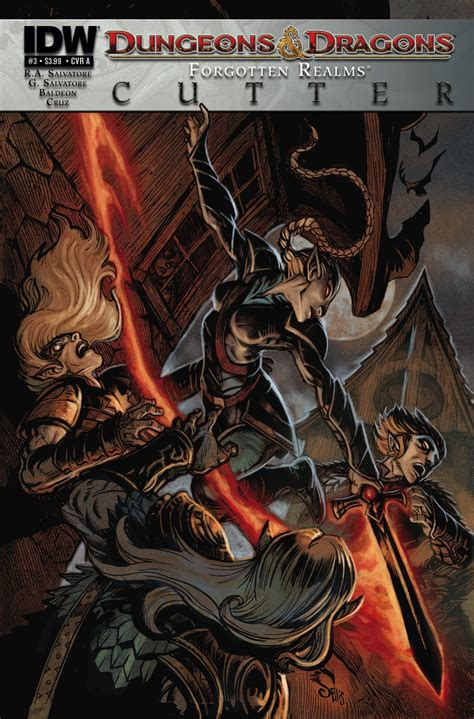 dungeons dragons philosophers iii at dungeons dragons cutter 3 idw publishing