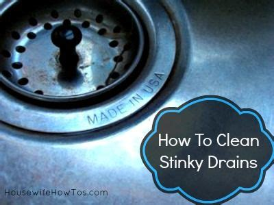 how to fix smelly drains in bathroom how2 clean stinky sink drains clean home care tips