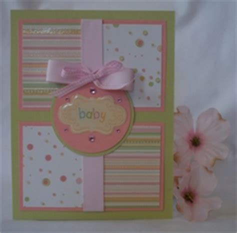 Handmade Baby Card Ideas - handmade baby cards and exles of card ideas