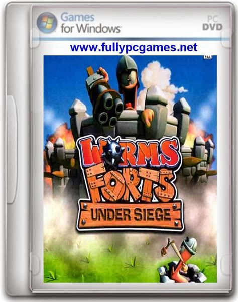 free download full version games under 200mb worms forts under siege game free download full version