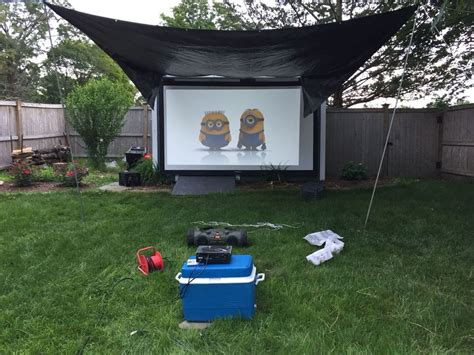 backyard projectors home theater screens archives page 3 of 6 visual apex