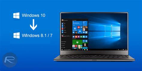tutorial downgrade windows 10 tutorial para hacer downgrade en windows 10 todowindowsphone