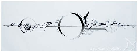 a perfect circle tattoo designs a circle tool design