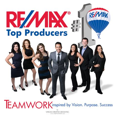 team session with top remax real estate office vargas