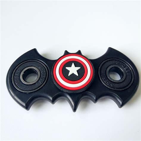 Fidget Spinner Superman Spinner Fidget Toys batman with captain america fidget spinner comicstoy