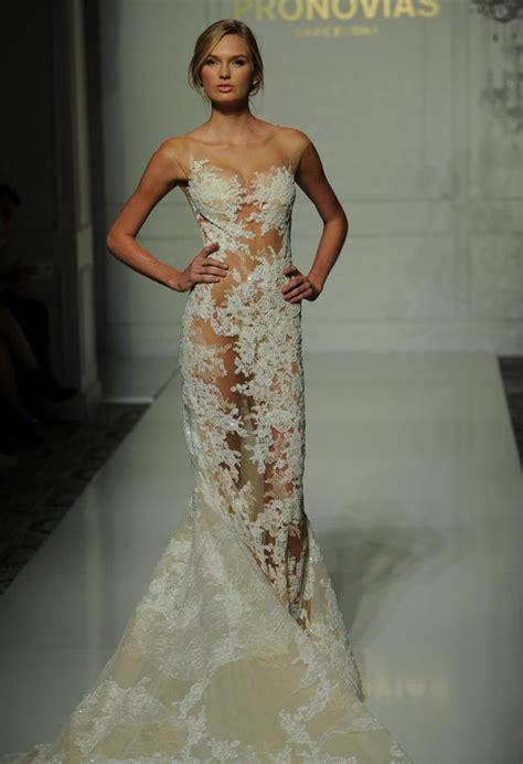 skin tight wedding dress