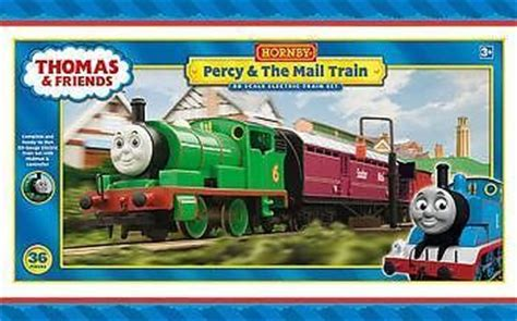 And Friends Percy Delivery Mail Diecast hornby friends r9682 oo scale percy the mail tra set