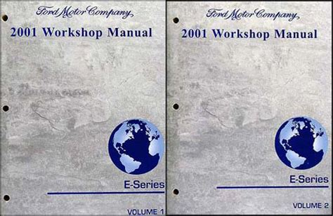 car engine repair manual 2001 ford e series electronic throttle control 2001 ford econoline van and club wagon repair manual ebay