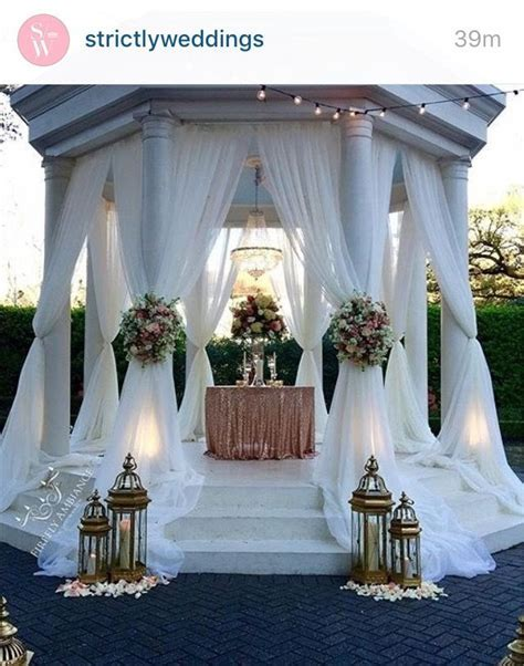Best 25  Gazebo wedding decorations ideas on Pinterest