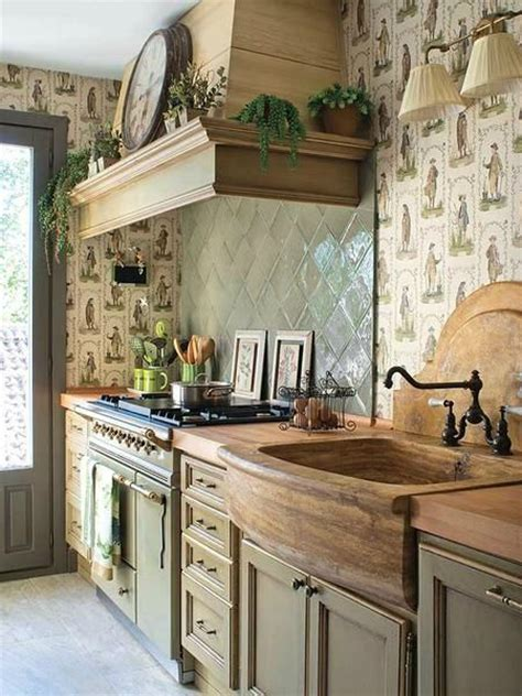 Country Kitchen Sink by 44 Reclaimed Wood Rustic Countertop Ideas Decoholic