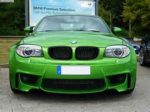 photo gallery bmw 1m green mamba and valencia orange