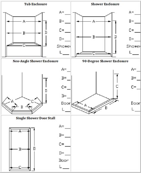 Shower Door Measurements Shower Doors Vancouver Bc Frameless Glass Shower Doors Vancouver