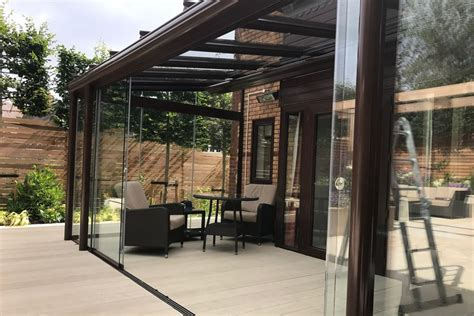 the glass room glass garden room install 1 year on the glass room company