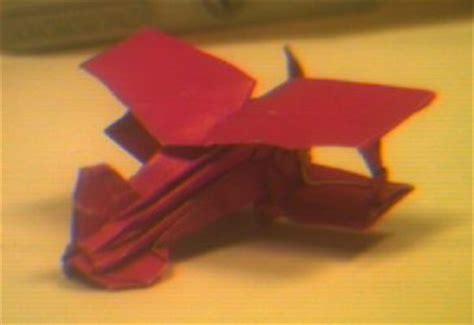 Origami Biplane - an origami biplane