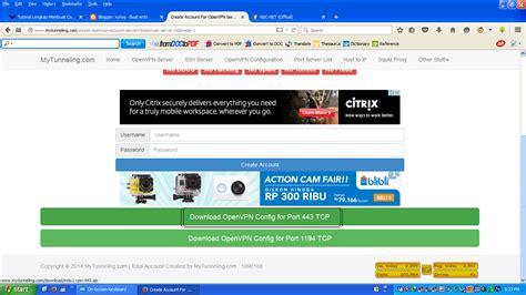 cara membuat config vpn full speed cara buat config openvpn untuk internet gratis ilmu itu
