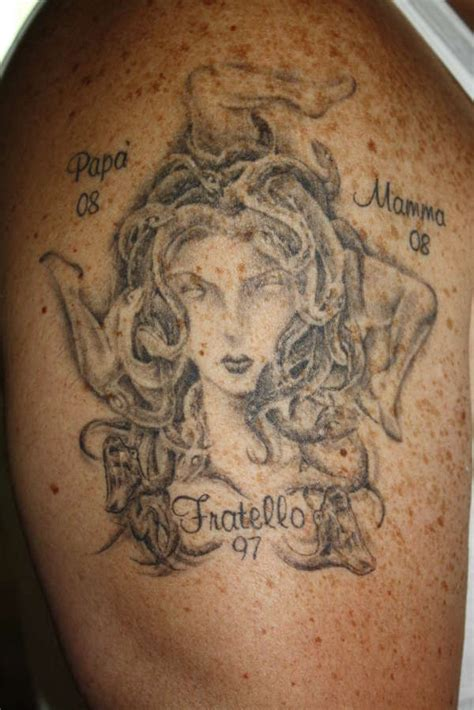 sicilian tribal tattoos madusa trinacria