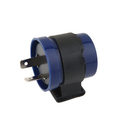 Flasher Led Motor 1pc dc 6v 12v input motorcycle blue inbuilt beeper flasher turn signal led blinker 2 pins motor