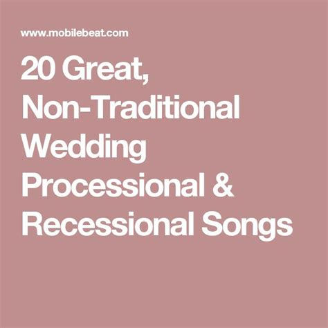 Wedding Aisle Exit Songs by 17 Best Ideas About Recessional Songs On