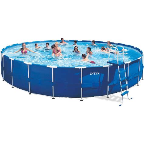 backyard swimming pools walmart decorating amazing blue color of large walmart intex