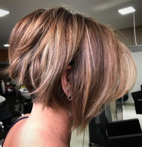 messy angled bob 60 classy short haircuts and hairstyles for thick hair