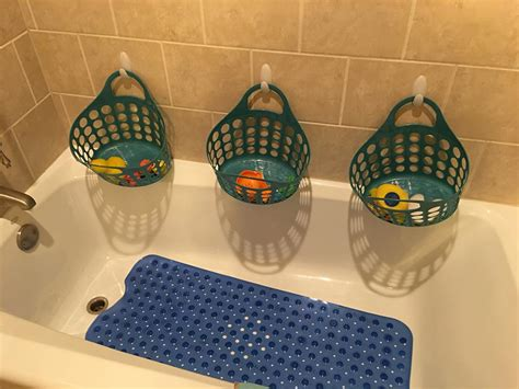 bathtub toy caddy 72 simple diy bathroom storage ideas that are worth trying