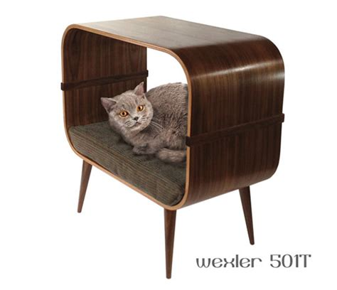 midcentury modern furniture for cats that s nicer than