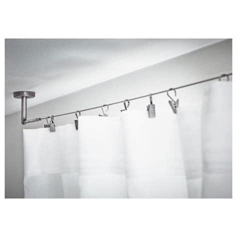 designer curtain tracks curtain rails tracks systems goelst ceiling mounted shower