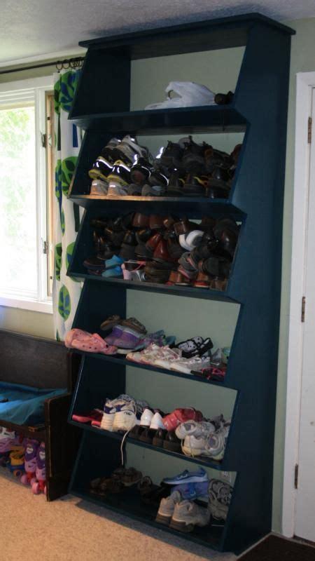 Shoe Shelf For Garage by 163 Best Images About Garage On Shelves