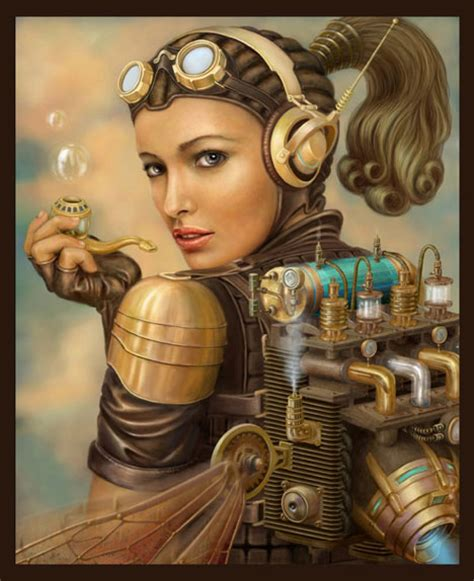 15 more creative works of steampunk art design