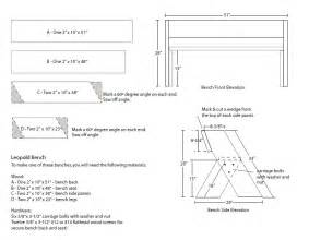 Greenhouse Bench Plans Leopold Bench