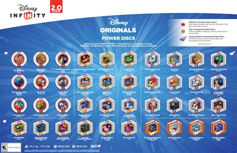 disney infinity power chips disney infinity 2 0 power disc details revealed