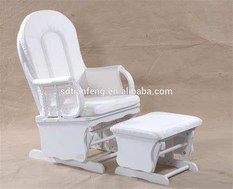 white wood glider and ottoman white suede white wood glider rocker with ottoman
