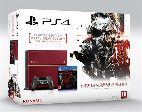 metal gear solid 5 console mgs5 the phantom ps4 console available in europe on