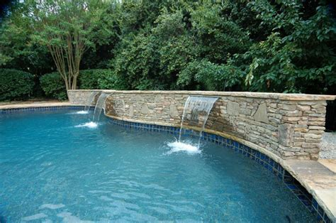 pool fountains and waterfalls swimming pool fountains www pixshark com images