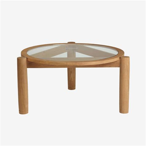 codeartmedia coffee table with rising top gabriella crespi quot rising sun quot coffee