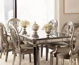 mirrored dining room tables mirrored furniture spacious interior design